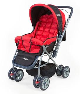 LuvLap  Stroller (Red) 27% Discount