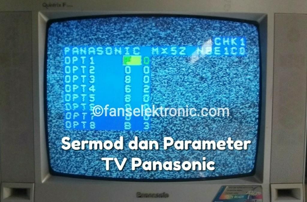 data parameter menu servis tv panasonic tc2088