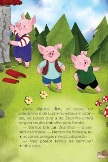História Os Três Porquinhos (Conta Pra Mim); Baixar PDF Grátis