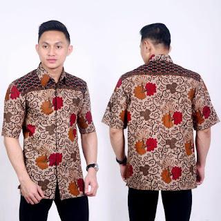 Kemeja Batik Pria No 8