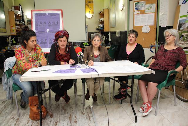 Rueda de prensa de las asociaciones de mujeres