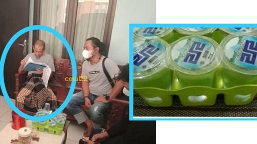 Pengendara yang Maki Petugas Didatangi Aparat, Netizen Fokus ke Merek Air Minumnya: 212