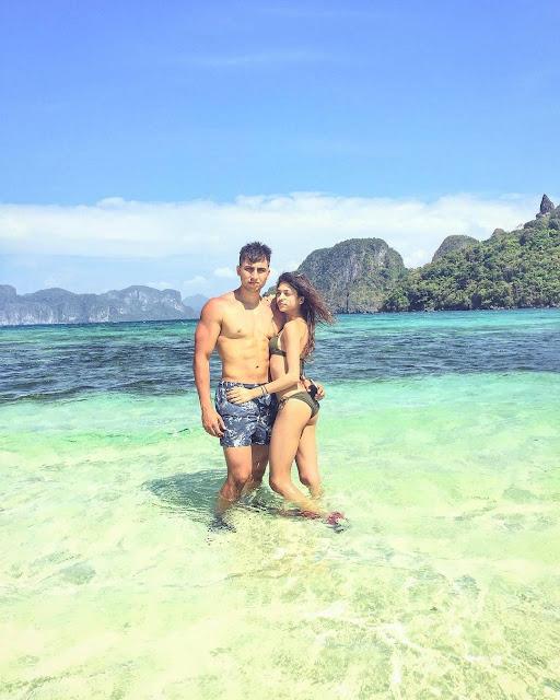 Alanna Panday with boyfriend