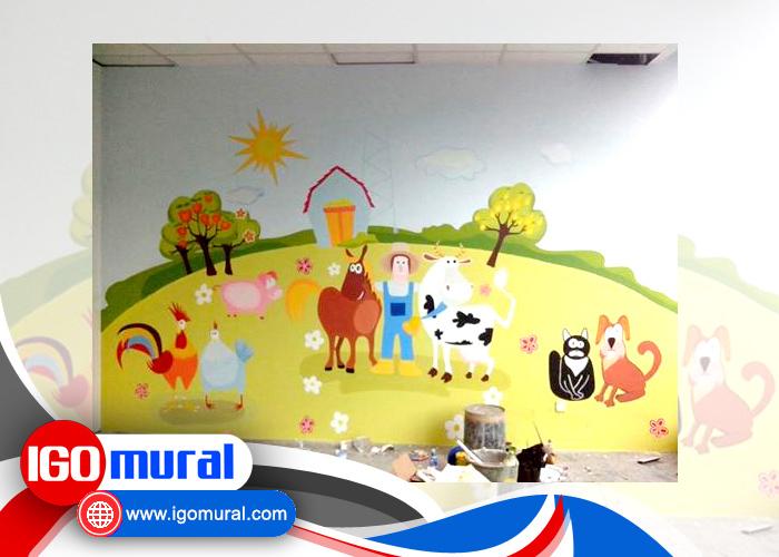 Lukisan-Dinding-Hewan