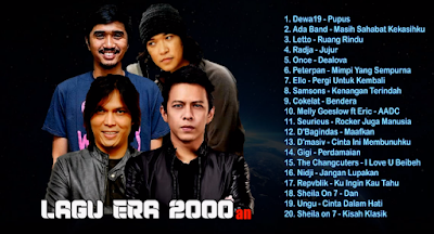 BEST 20 Lagu Tahun 2000an Full Album Nonstop