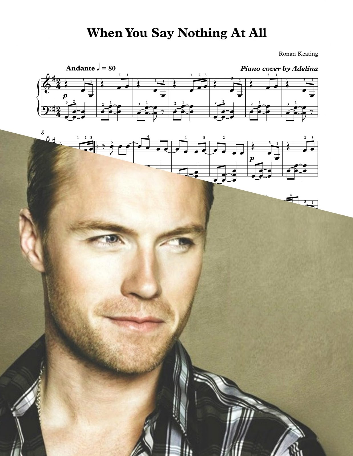 Ronan Keating When You Say Nothing At All übersetzung
