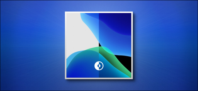 قسم من ورق جدران Apple iPhone Dark and Light Mode