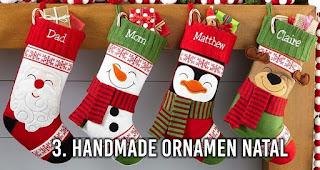 HandMade Ornamen Natal adalah salah satu bisnis yang menguntungkan saat moment Natal