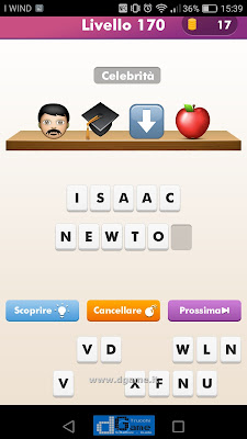 Emoji Quiz soluzione livello 170