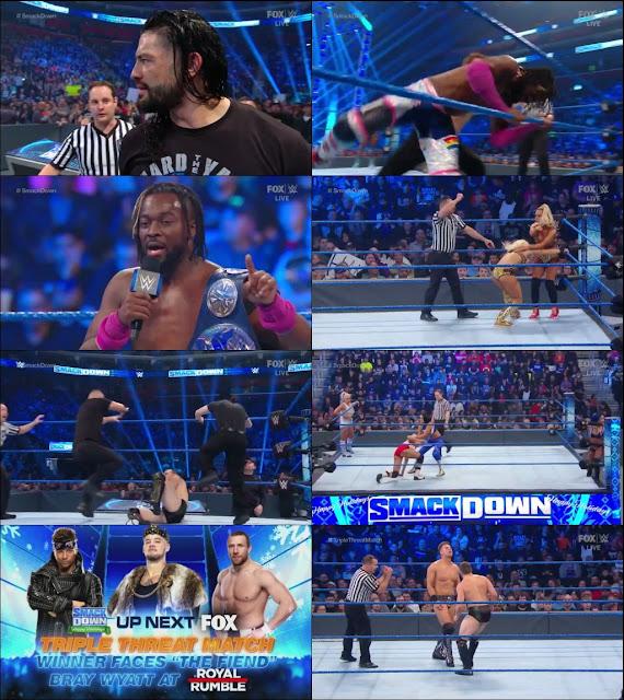 WWE Friday Night Smackdown 27th December 2019 720p HDTV