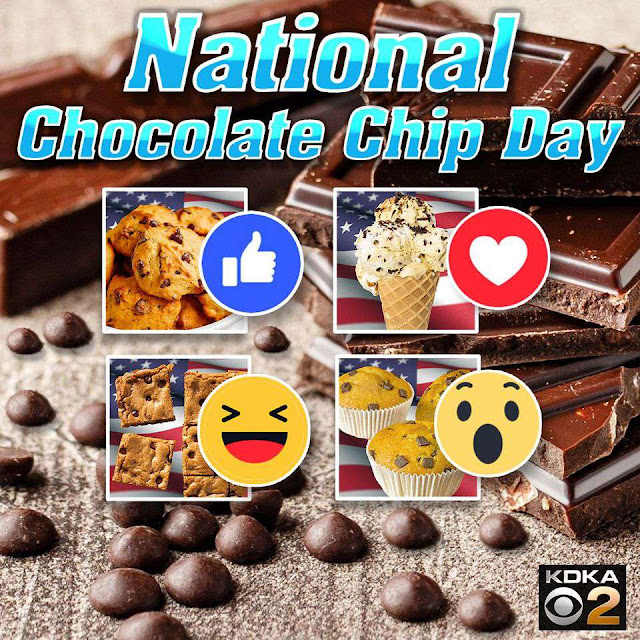 National Chocolate Chip Day Wishes Awesome Images, Pictures, Photos, Wallpapers