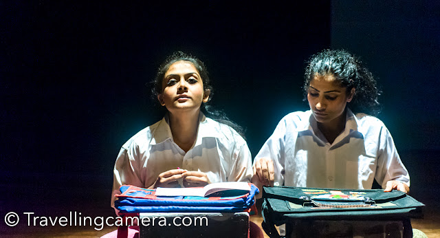This play is based on Manipur, it's struggle and how Irom Chanu Sharmila started her fast.