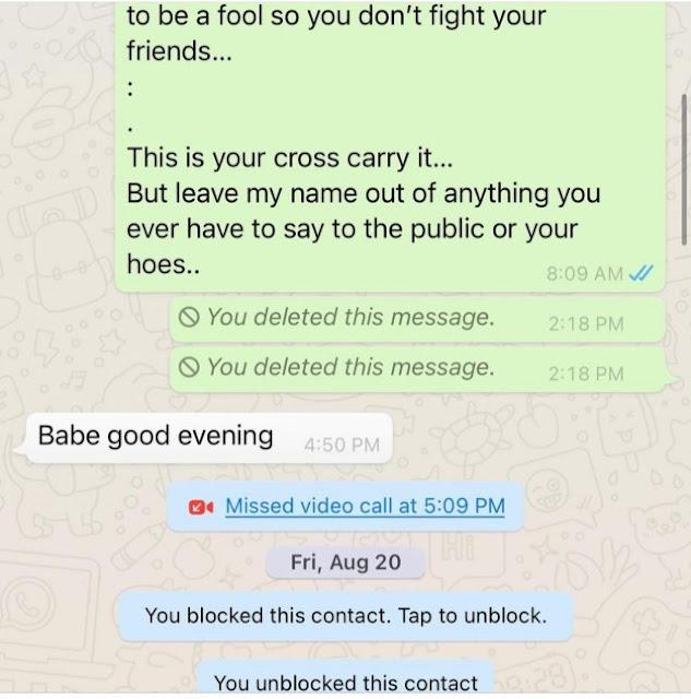 Kpokpogri saga: Tonto Dikeh releases chat with Prince Kpokpogri after his voice note went viral (photos)