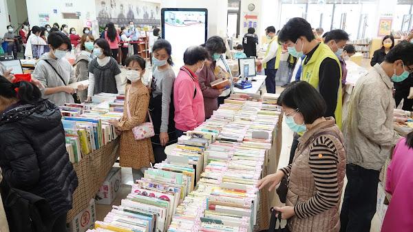 彰化市立圖書館好書交享閱 以書易書一起做環保