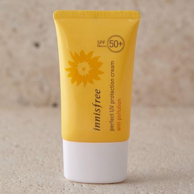 Innisfree là một loại kem chống nắng cơ bản - phù hợp cho những bạn skincare không treatment