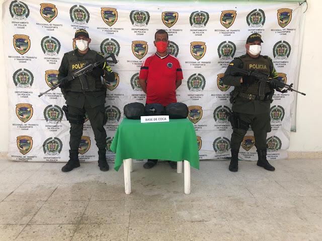 hoyennoticia.com, Llevaba seis kilos de coca para Barranquilla