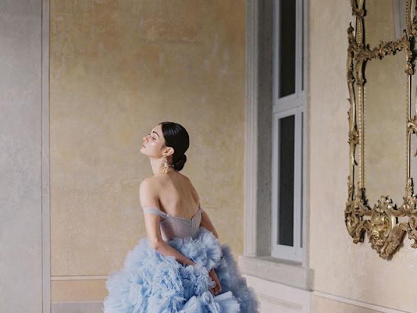 Something Blue // Wedding Dress