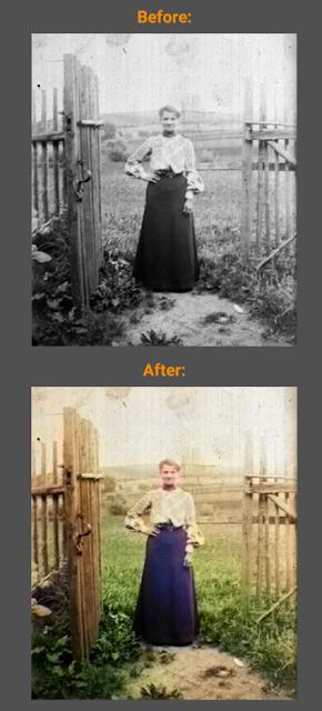 طريقة مذهلة لإسترجاع ألألوان الأصلية للصور القديمة باللونين الأبيض والأسود