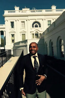 See photos from actor Kenneth Okonkwo's visit to the White House