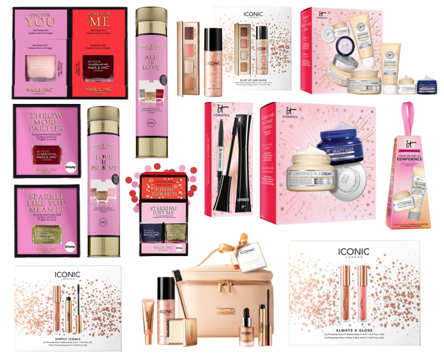 Iconic London, IT Cosmetics & Nails Inc Christmas 2020 Gift Sets