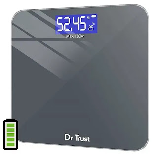 Dr Trust Electronic Rechargeable Digital Weighing Scale with Temperature Display | Best Digital Weighing Machine for Home in India | Best Weighing Machine Reviews
