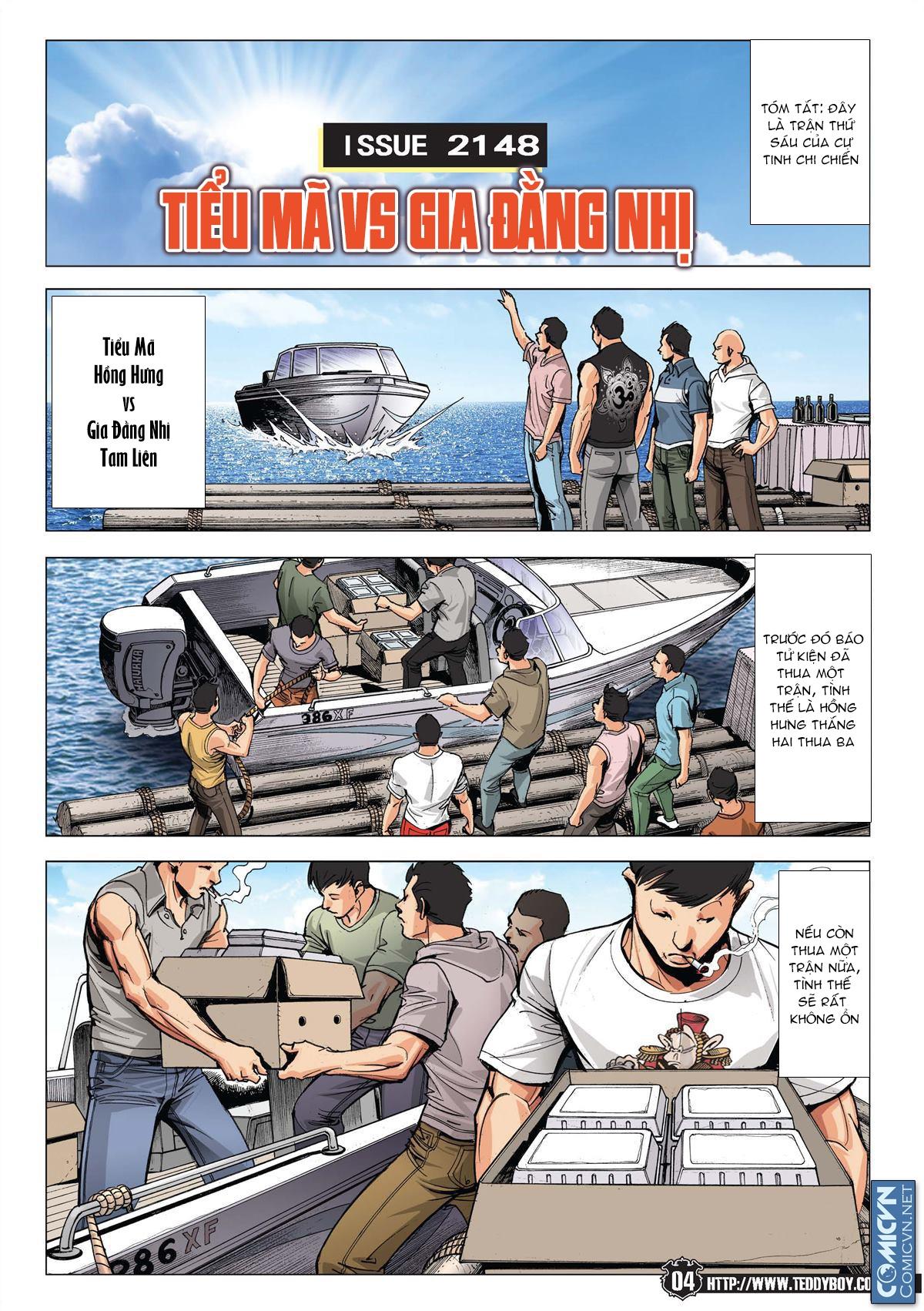 Người Trong Giang Hồ chapter 2148: tiểu mã vs gia đằng nhị trang 2