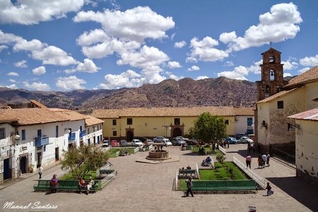 Cusco, plaza San Blas