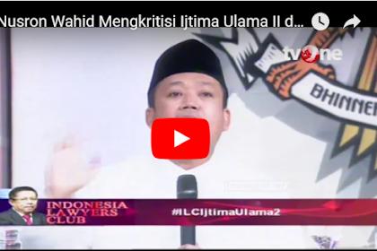 Nusron Catut Nama KH Nawawi Di ILC Dukung Jokowi, Ini Bantahan Tegas dari Putra KH Nawawi