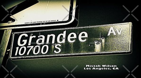 Grandee Avenue, Los Angeles, California by Mistah Wilson