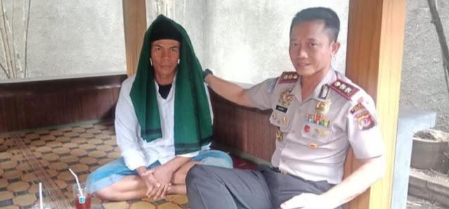 Akhirnya Polisi Tetapkan Uus Pembawa Bendera HTI Jadi Tersangka