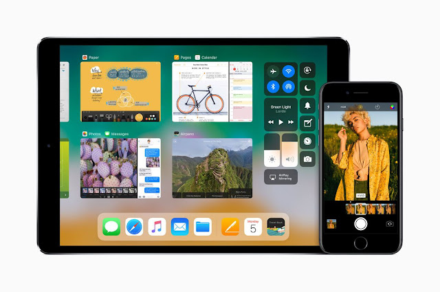 the iPad dock in iOS 11