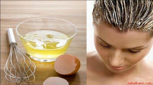 cara menghaluskan rambut dengan telur