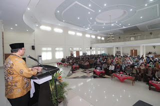 Bupati-Wakil Bupati Kompak Hadiri Silaturrahim Idul Fitri Kemenag Majalengka