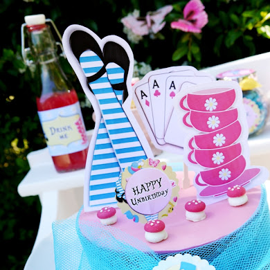 Alice in Wonderland Inspired Un-Birthday Tea Party