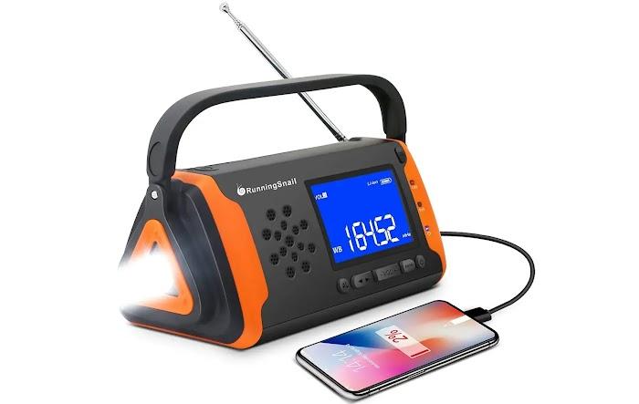 Emergency NOAA Solar Powered Portable Radio
