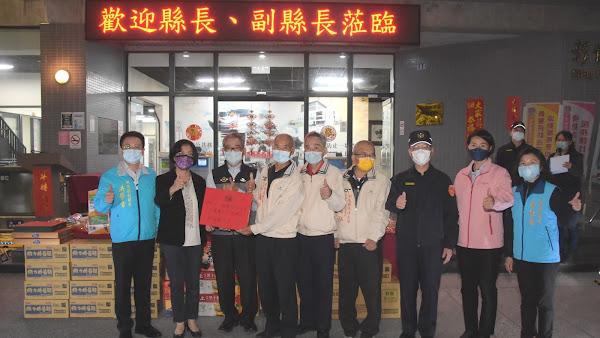 王惠美慰勞員警及協勤民力 春安工作民眾安心過好年