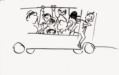 Эвелина Васильева. Автобус