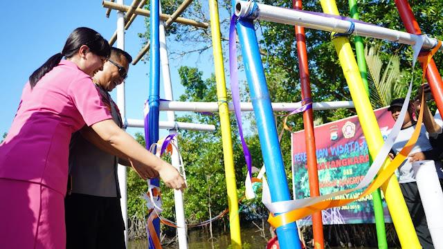 Pesona Wisata Mangrove Bhayangkara 99, Membidik Milenial Luwu Raya