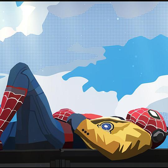 Spider-Man Homecoming Wallpaper Engine