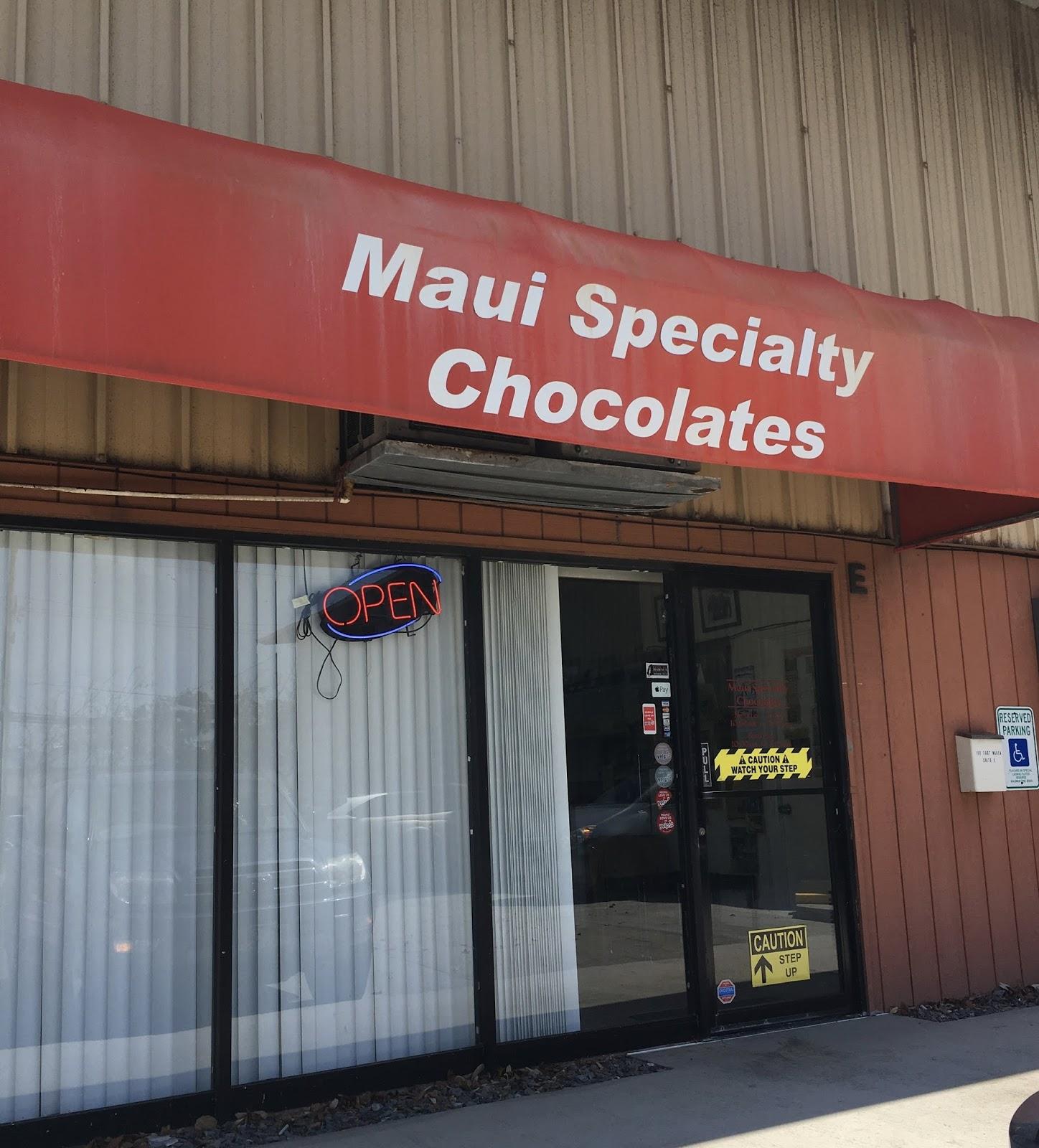 TASTE OF HAWAII: MAUI SPECIALTY CHOCOLATES