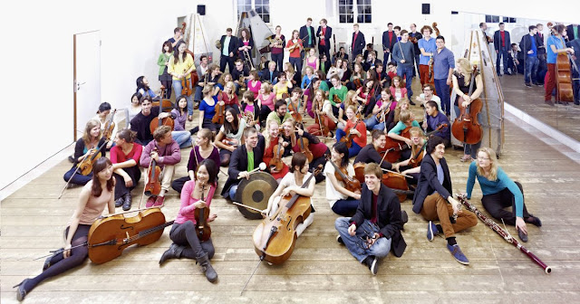 Junge Deutsche Philharmonie (photo Achim Reissner)