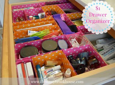 vanity drawer organizer