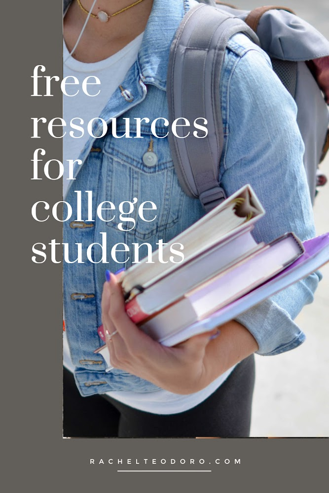 Free Resources for College Students