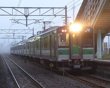 東北本線 仙台行き1 701系(黒磯~新白河間2017.10.13廃止)