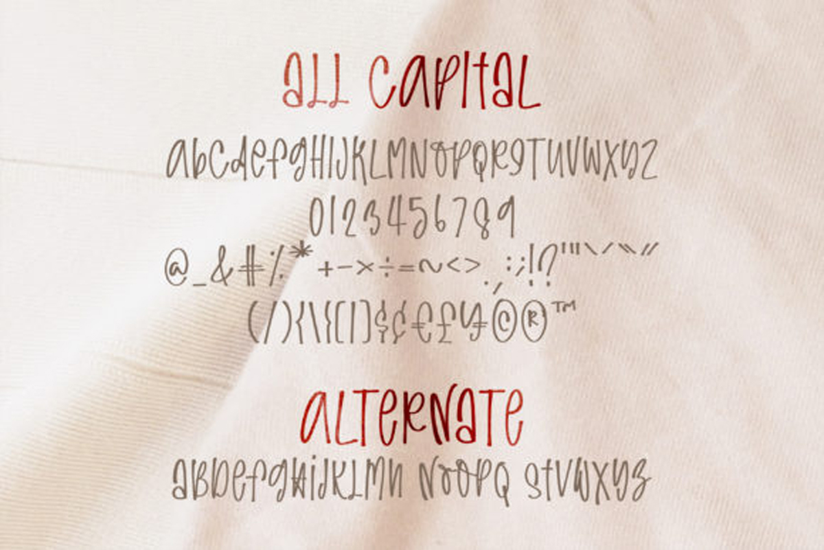 Easygoing Font..