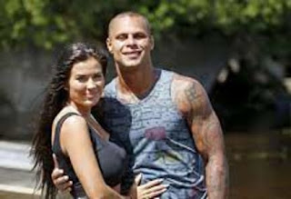 Jordan Poyers With His Wife