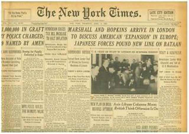 NY Times, 9 April 1942, worldwartwo.filminspector.com