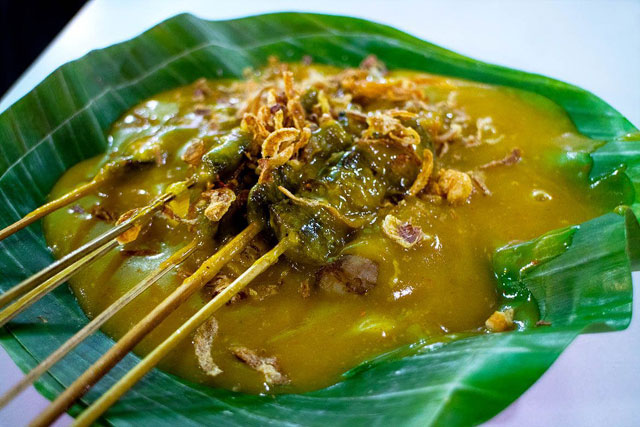 Sate danguang danguang khas paya kumbuh