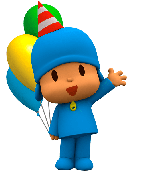Cartoon Characters  Pocoyo  Png
