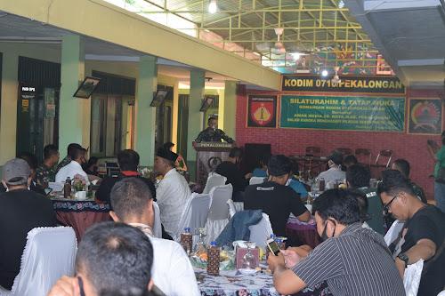 Dandim Pekalongan Gelar Silaturahmi Dengan Awak Media